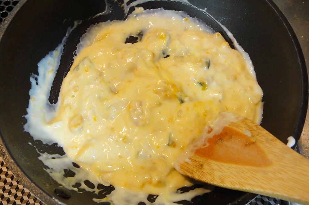 米粉かぼちゃホワイトソース