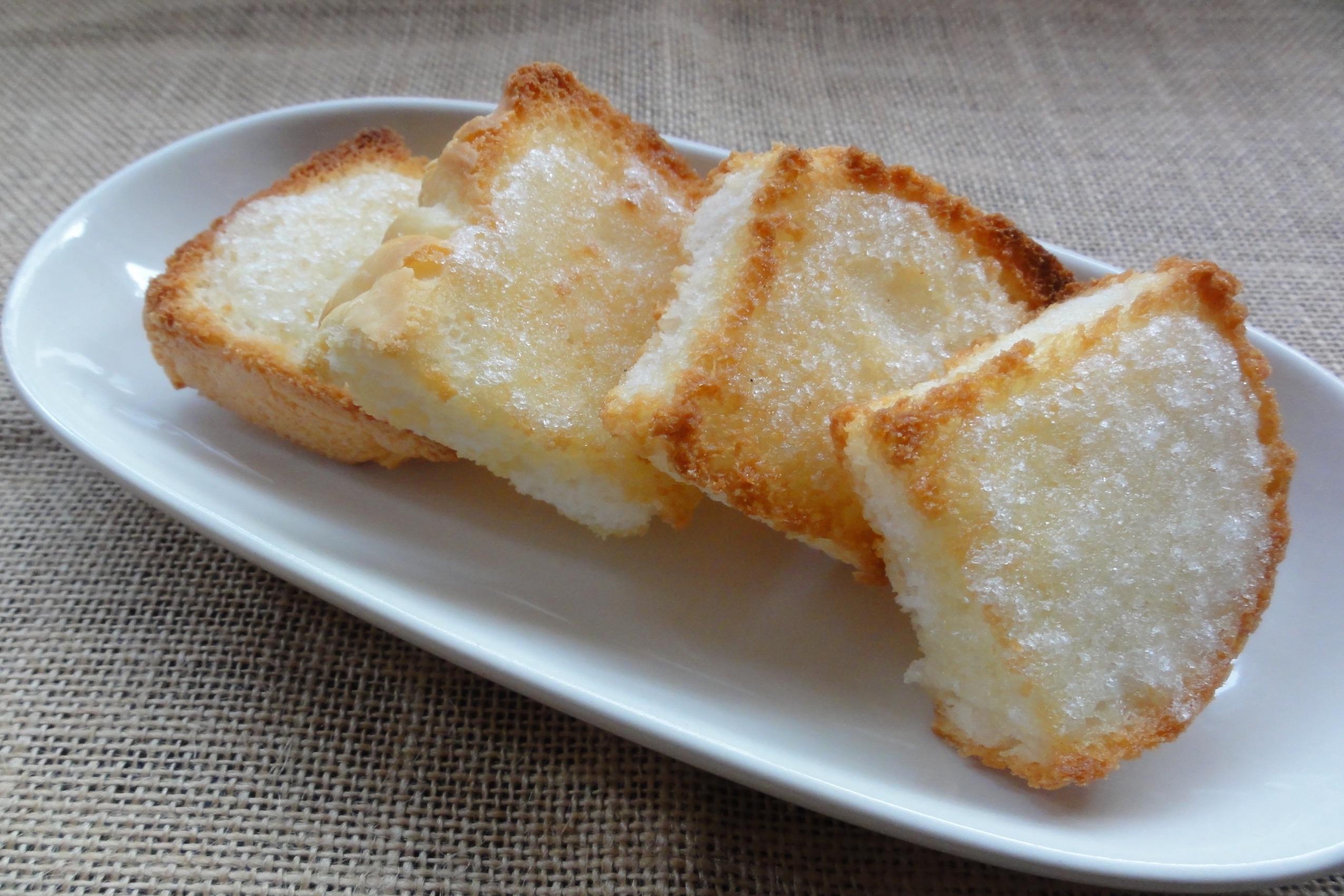 米粉パンラスクの完成
