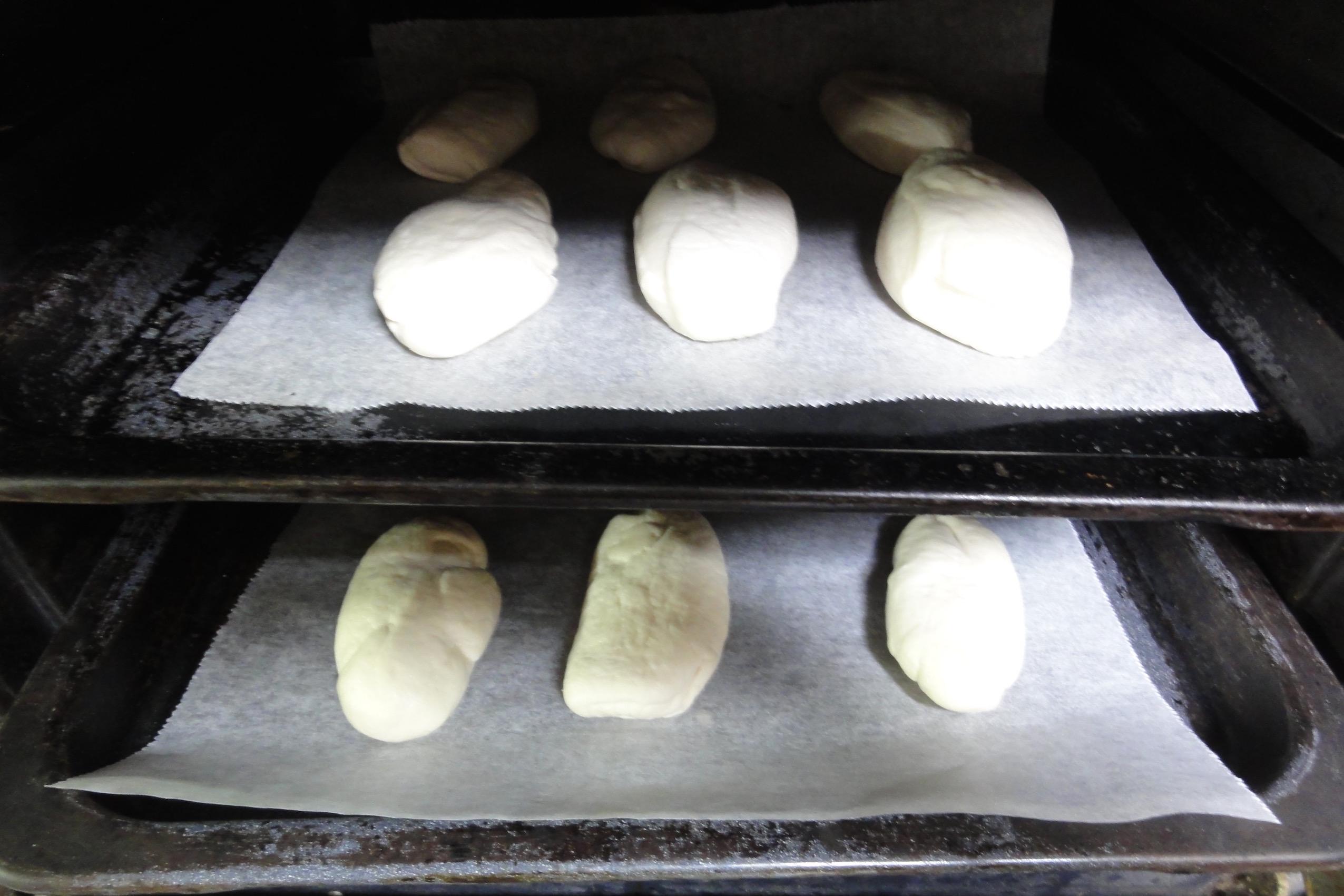 米粉パン生地の2次発酵