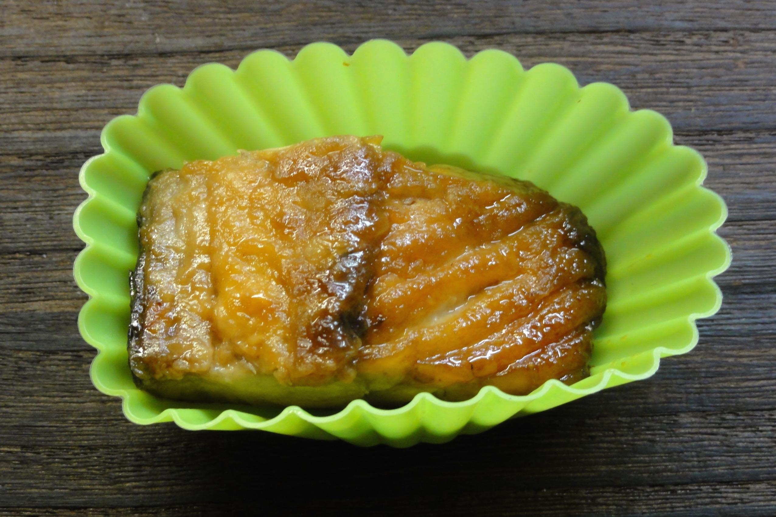 米粉使用鯖の照り焼きの完成