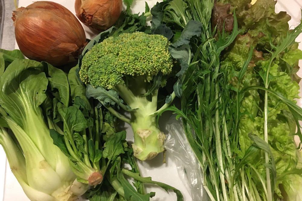 父の野菜たち