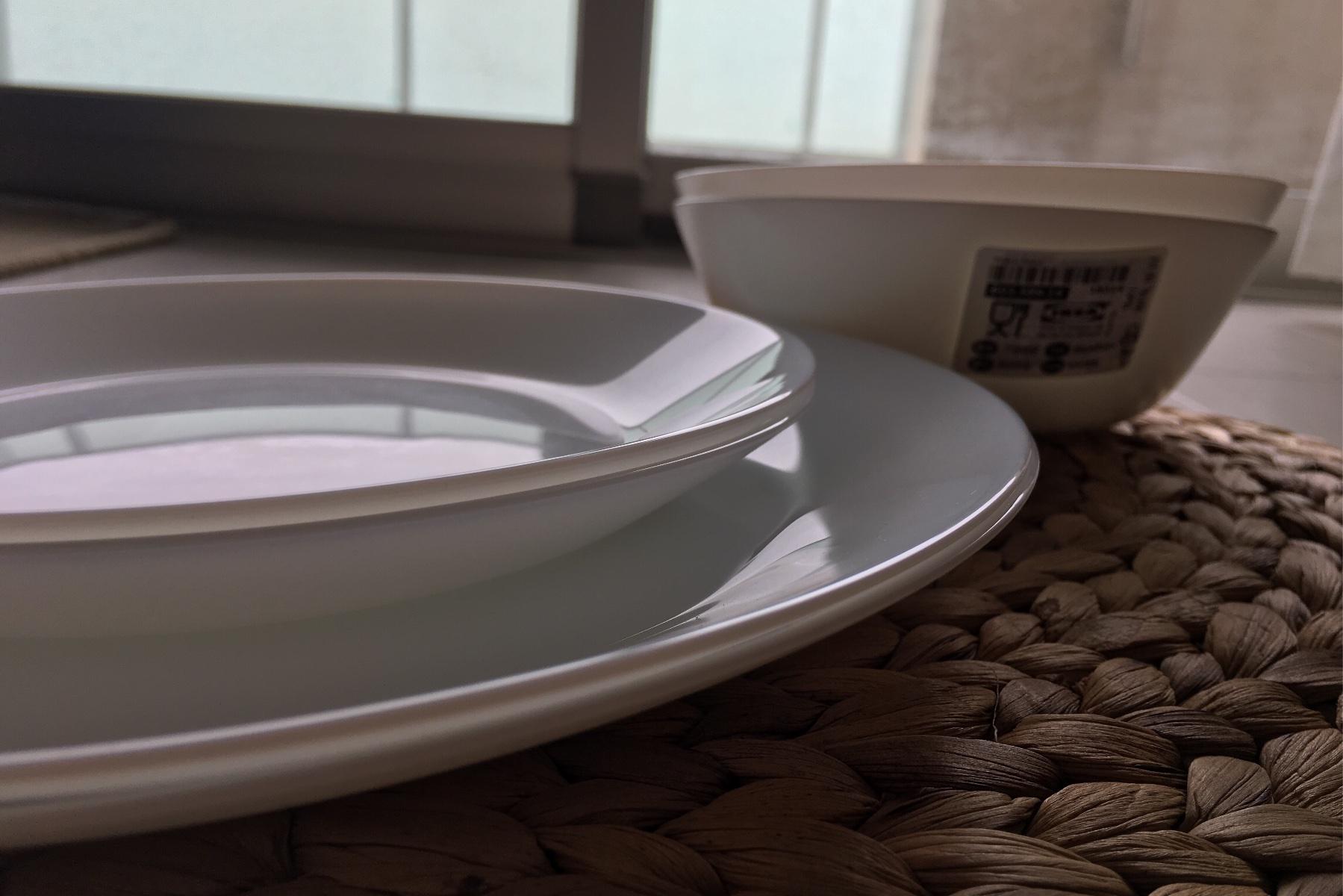 お皿は2枚ずつ