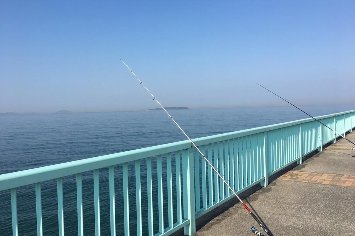 釣りの準備万端