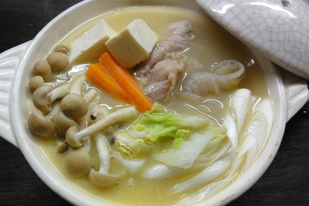 濃厚!霧島鶏鍋スープ鍋