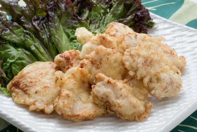 【宮崎県産エビス鶏 むね肉 塩糀漬け】 焼いて、揚げて、レンジでチンして味わいを比較!