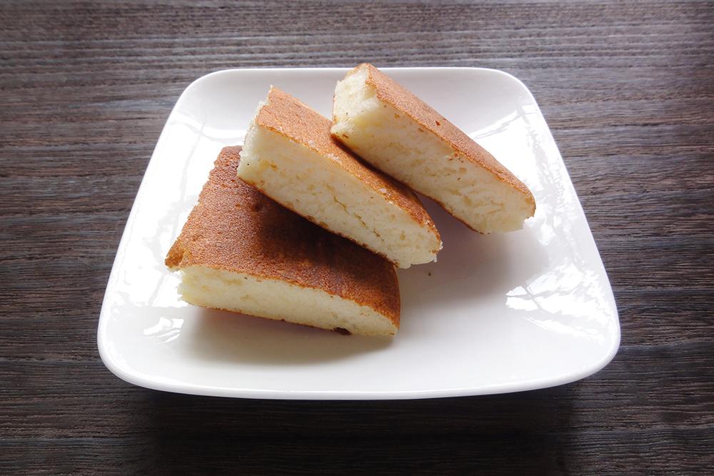 ふんわり米粉パンケーキ