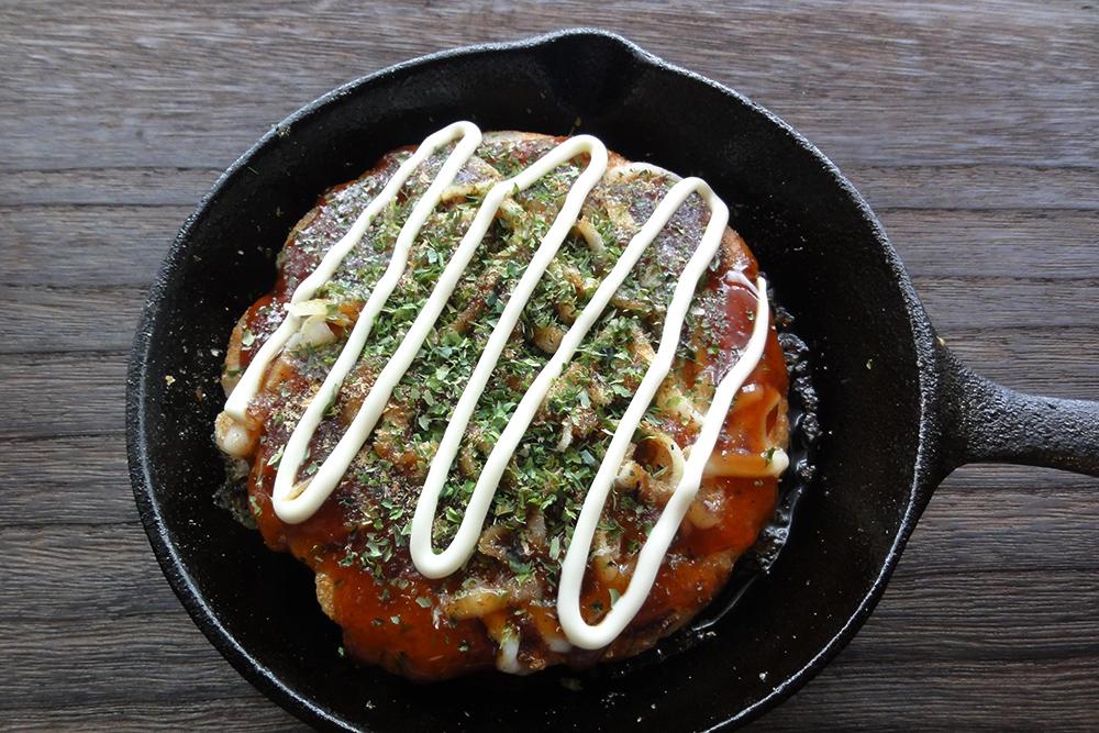 ニトスキで簡単!米粉お好み焼き