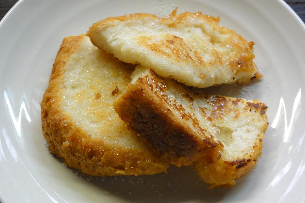 卵不使用フレンチ米粉トースト