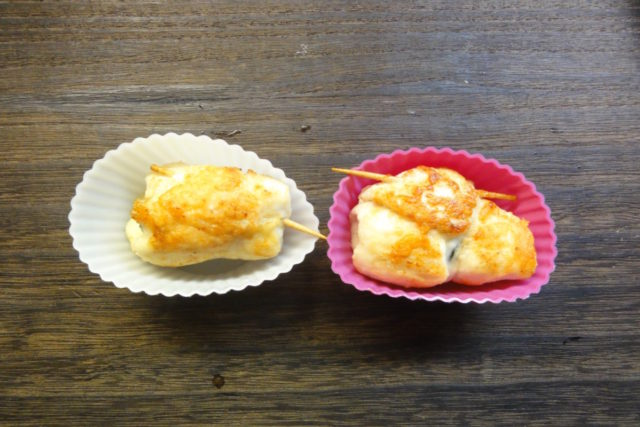ささみの大葉チーズ焼き(冷凍術)