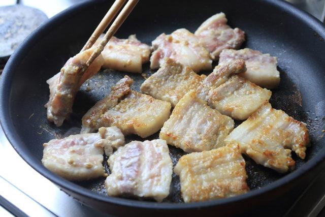 【豚バラブロック】絶品!!ご飯のお供に豚バラ味噌漬け