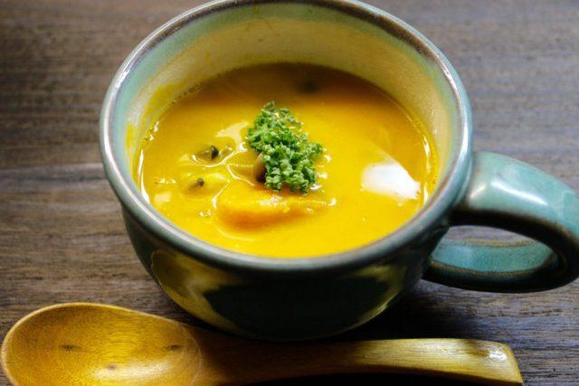 濃厚!かぼちゃスープ.実験クッキング