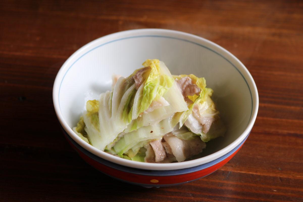 【純米酒蔵料理酒】シンプル!白菜ミルフィーユ鍋,喜多屋