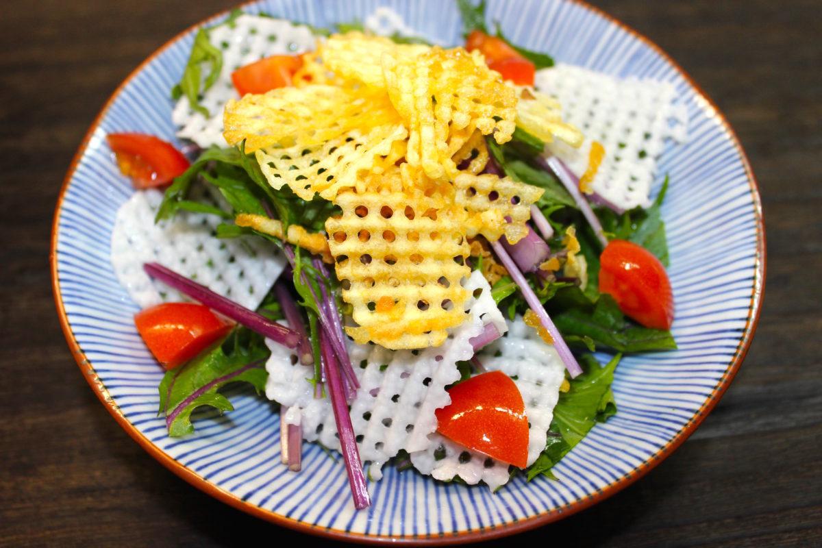 【ワンランク上のサラダに変身!】ワッフルピーラー,便利グッズ
