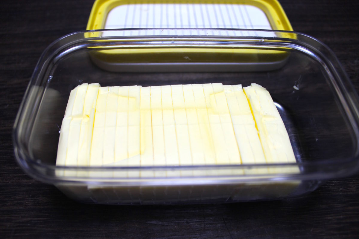 【バターをこよなく愛すため】バター便利グッズ。ケース編