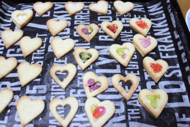 【インスタ映えするクッキー】ステンドグラス米粉クッキー,卵アレルギー