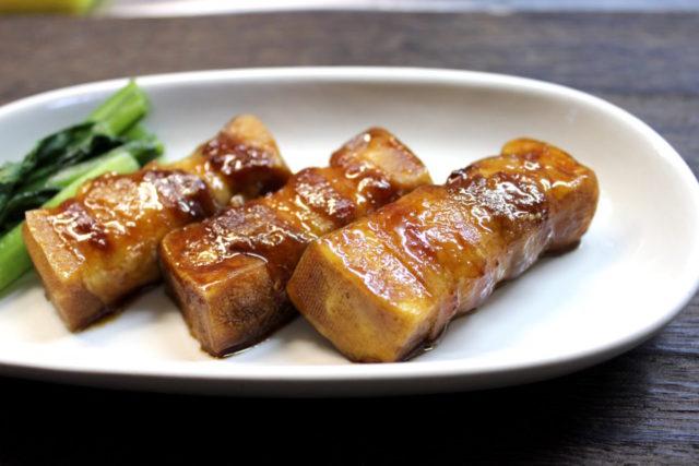 高野豆腐 豚肉照り焼き,小麦アレルギー