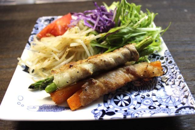 お弁当にも!豚肉の野菜巻き