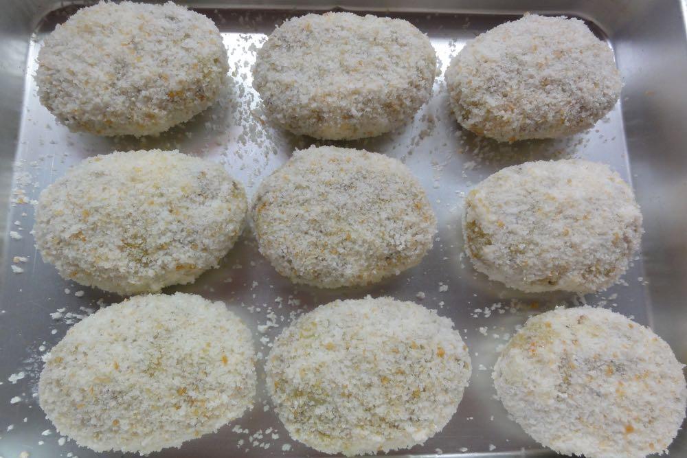 卵・小麦不使用コロッケのタネ完成