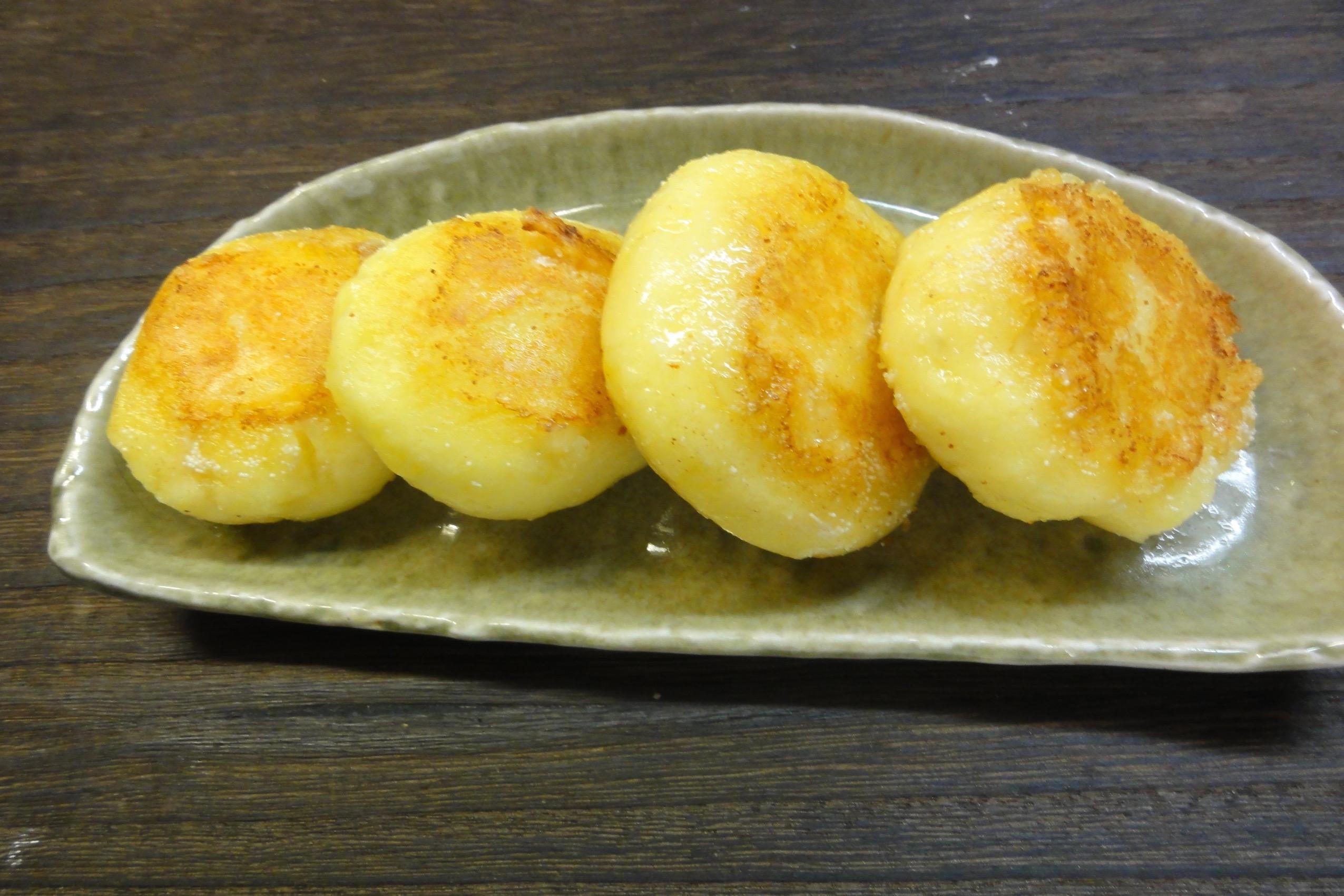明太チーズじゃがいもおやき