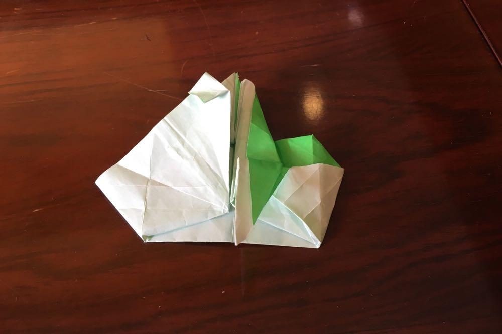 折り紙。何かにチャレンジ