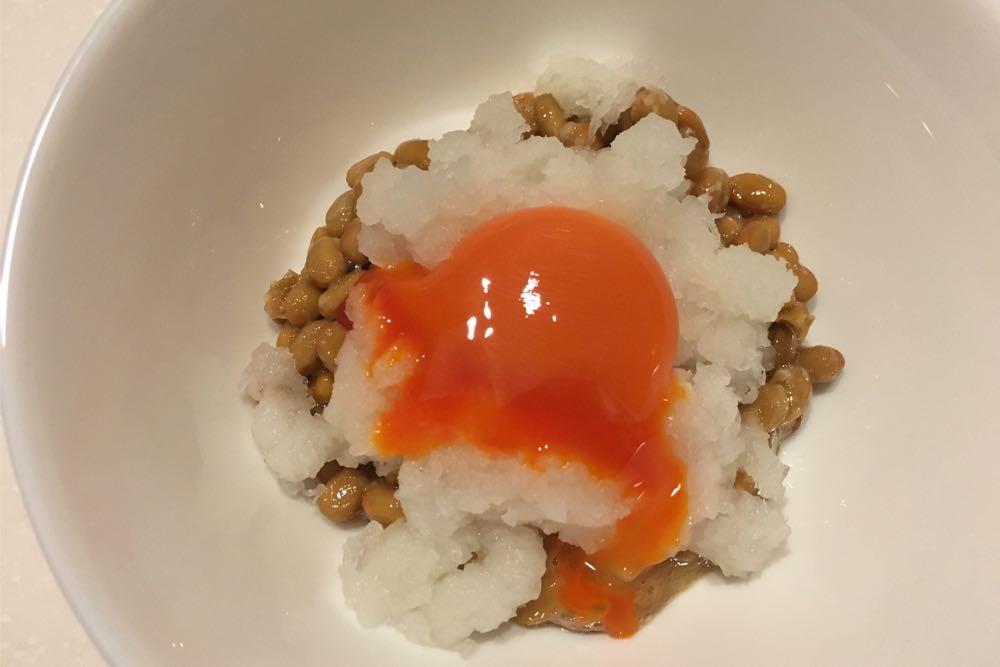 卵おろし納豆