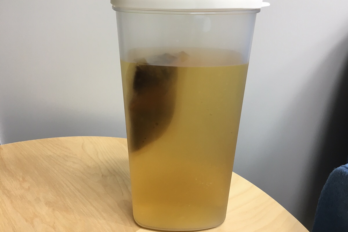 ウォーターサーバーで水出ししたお茶