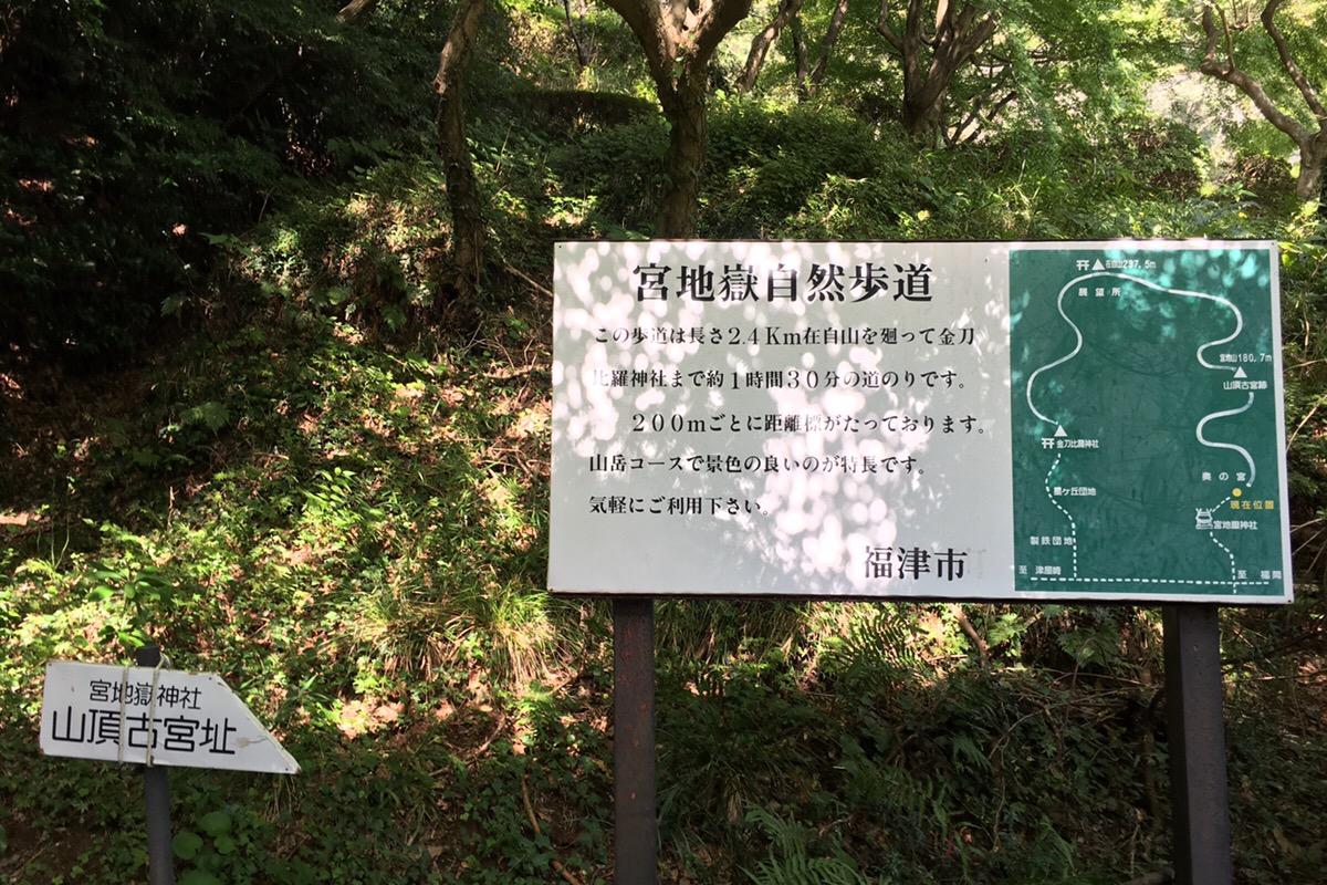 宮地嶽登山道