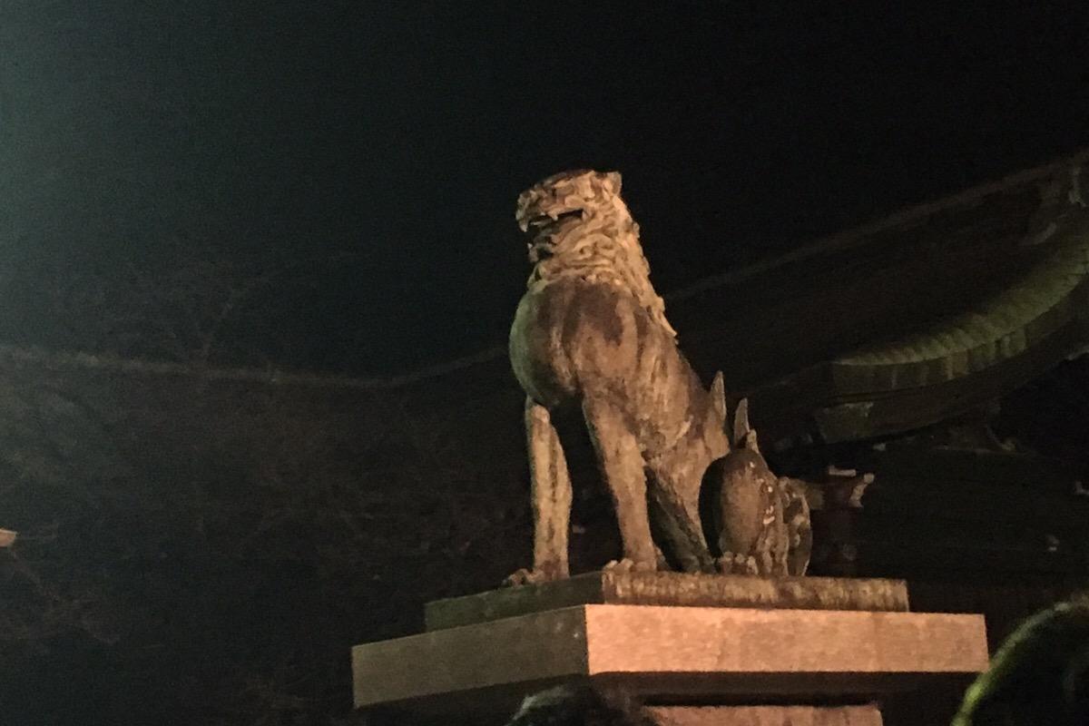 宮地嶽神社 狛犬