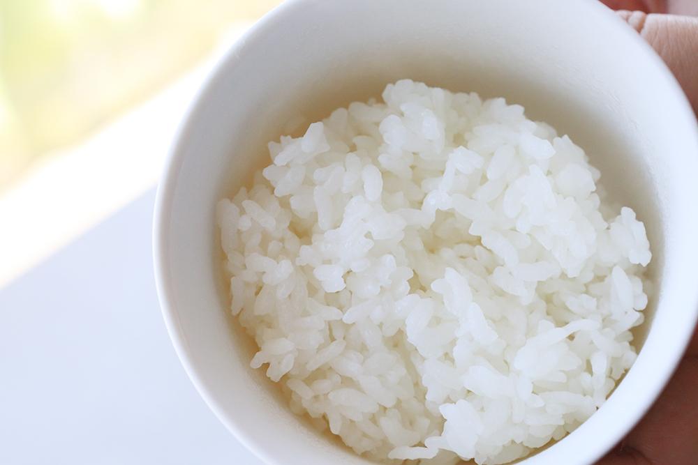 水道水で炊いたお米
