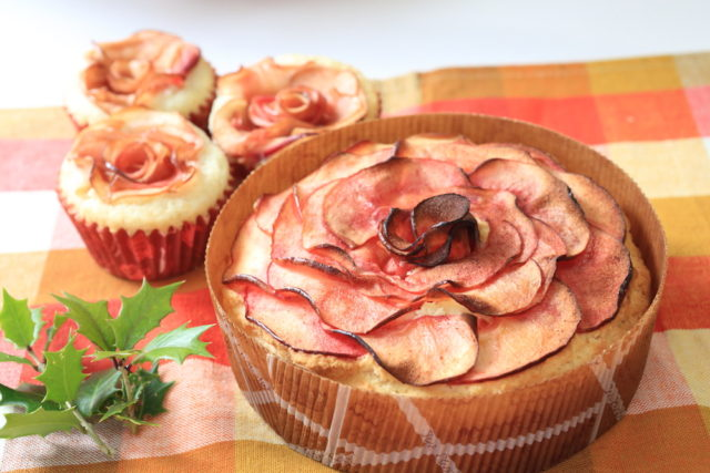 【高千穂バター(加塩タイプ)】卵・小麦不使用アレルギー対応バラケーキ