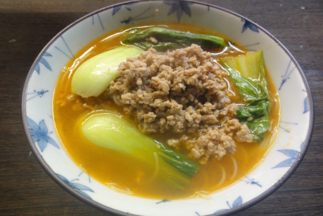 ビーフン担々麺(風)