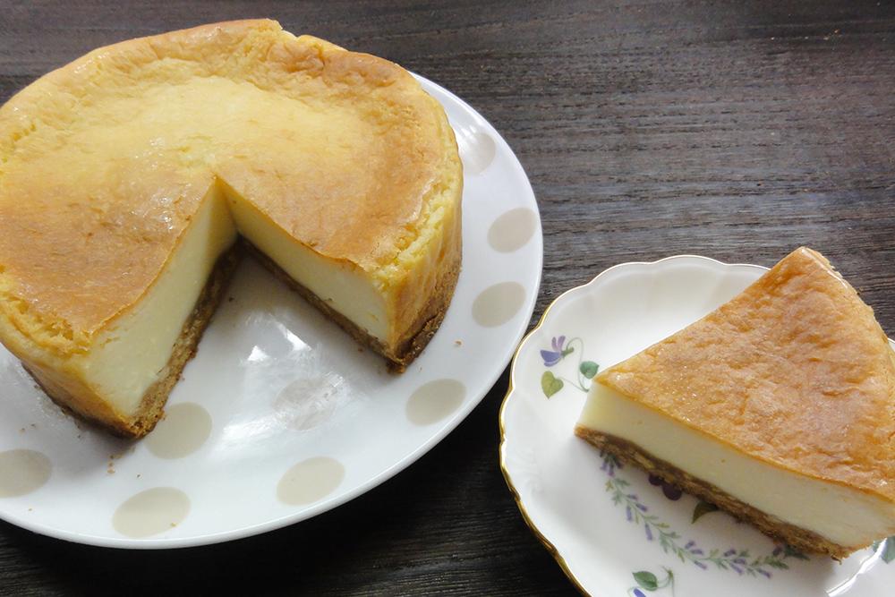 卵不使用チーズケーキ
