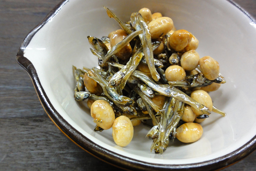 ポリポリ大豆いりこ