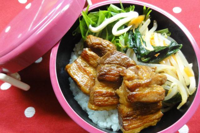 豚角丼弁当