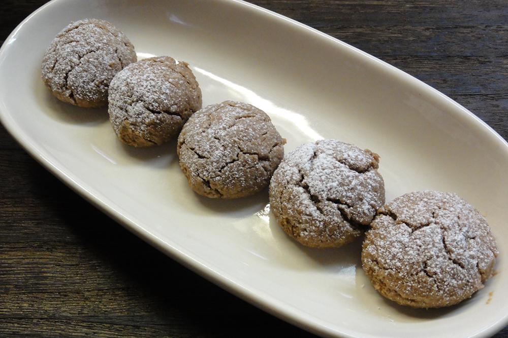 小麦不使用 米粉ココアスノーボールクッキー