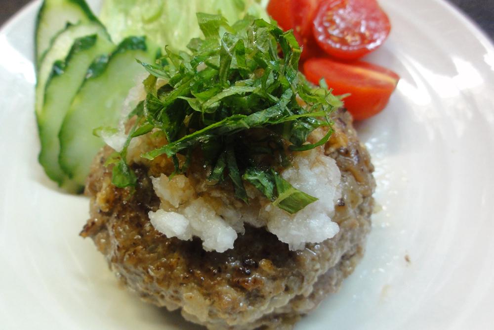 卵不使用 豆腐ハンバーグ