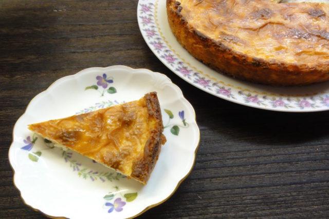 卵・小麦不使用ベイクドチーズケーキ