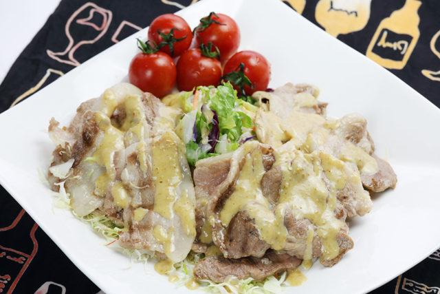 【黒豚焼肉】焼肉サラダ