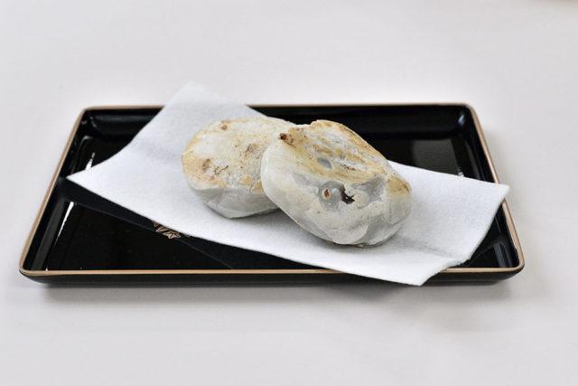 【温泉水99】福岡名産!梅が枝餅(小豆比較)