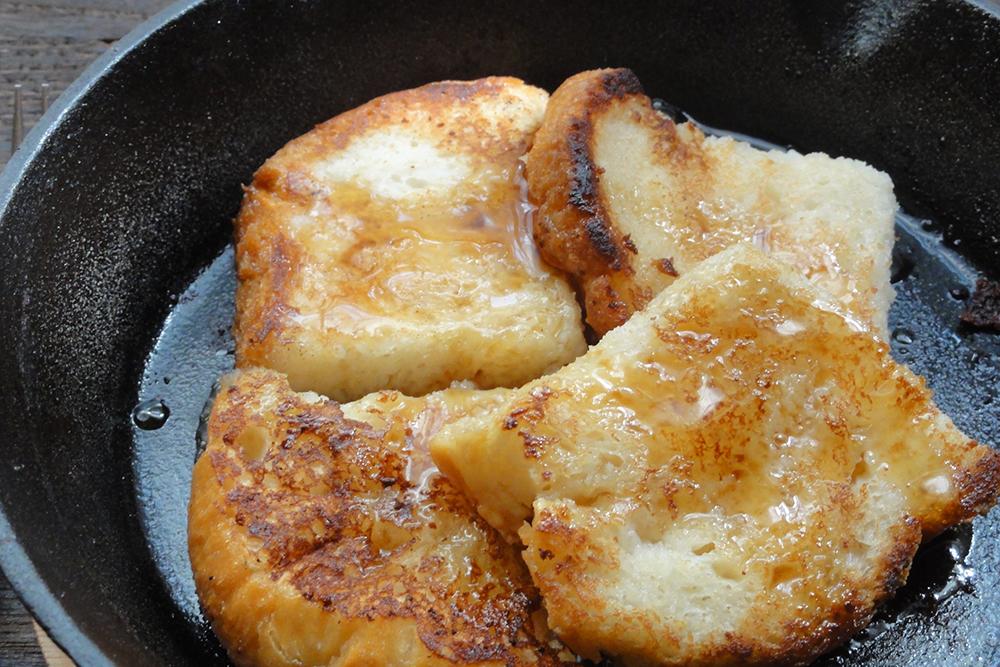 卵不使用米粉パンフレンチトースト