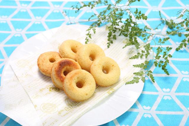 【高千穂発酵バター】ヘルシーで風味豊か!おからの焼きドーナツ