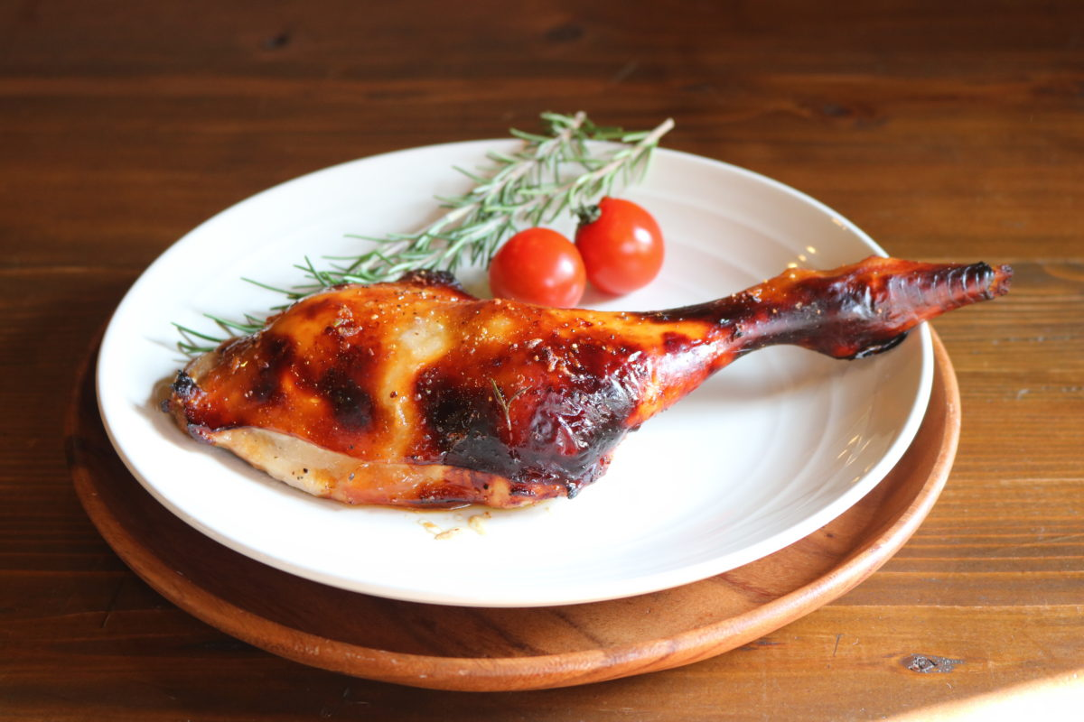 【霧島鶏 骨付きもも肉】クリスマスといえば!ローストチキン.エビス商事