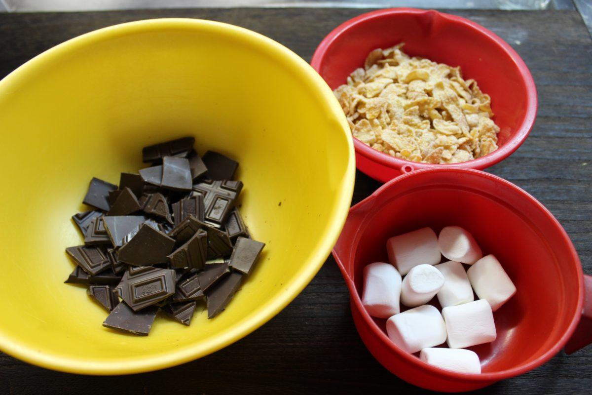 コーンフレークチョコスティック,小麦・卵アレルギー対策