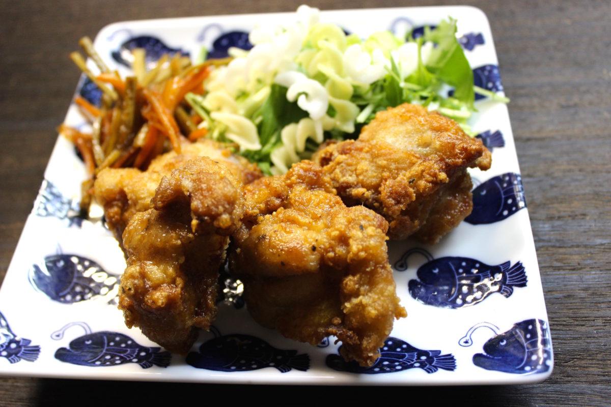 サクサク鶏の唐揚げ,小麦アレルギー