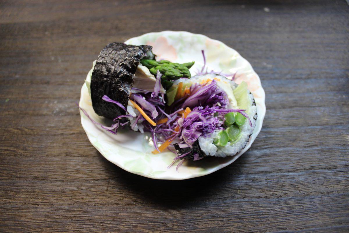 【寿司ブリトーを作ってみる!】,流行,ヘルシー
