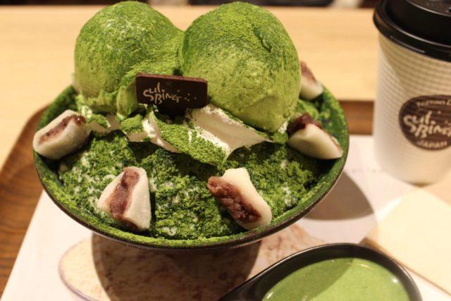 【インスタ映えするかき氷】雪氷ソルビン,ソルビン抹茶,博多