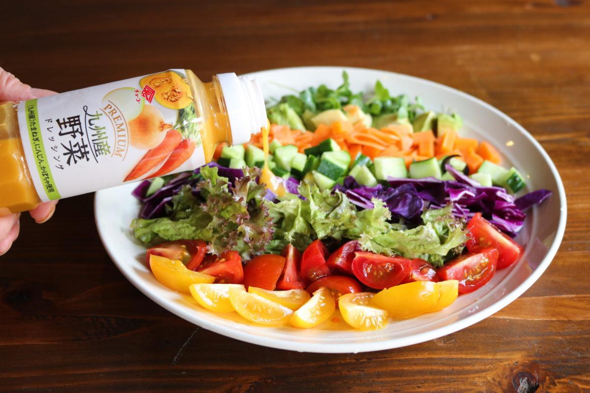 【プレミアムドレッシング九州産野菜 】野菜を野菜でいただく!,チョーコー醤油