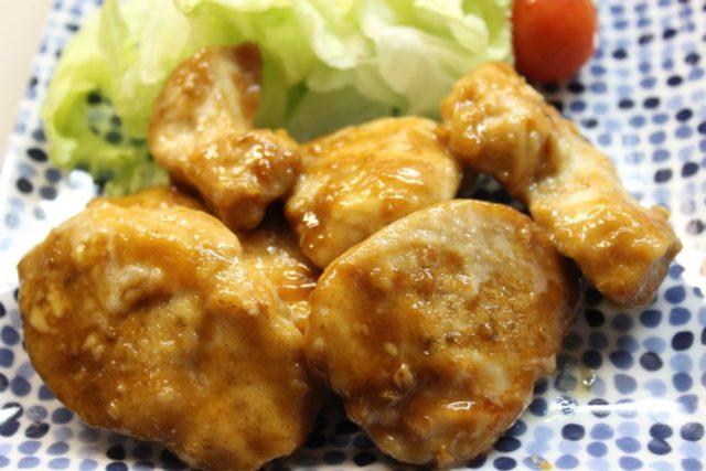 鶏むね肉の卵不使用テリマヨ焼き,卵アレルギー対策