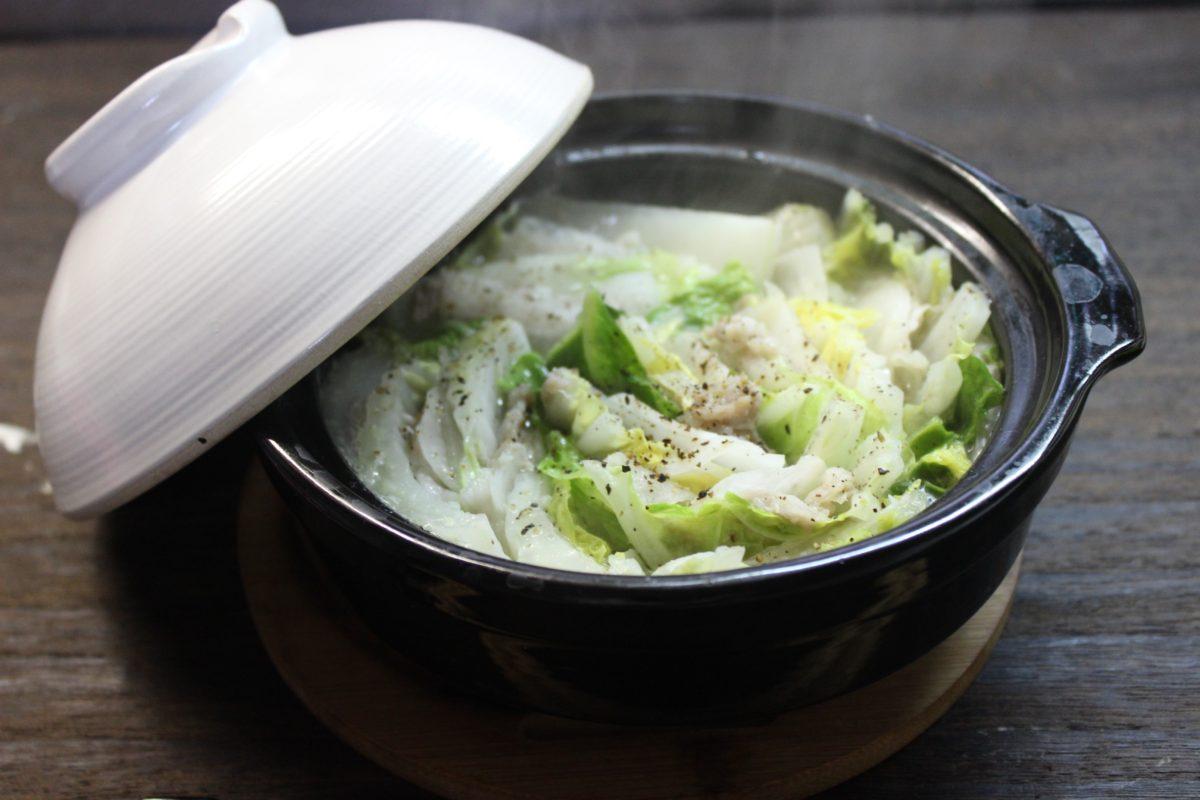 ほっこり!白菜ミルフィーユ鍋