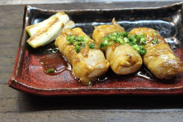 豚バラの豆腐巻き